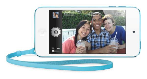 4インチのRetinaディスプレイを搭載したiPhone touch