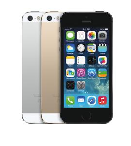 シルバー、ゴールド、スペースグレイの3つの仕上げから選べるiPhone 5s